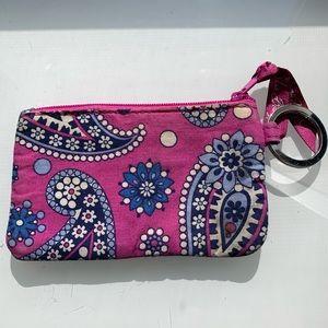VERA BRADLEY ID coin purse